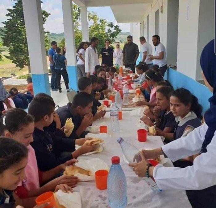 École Sidi Salem – Séjnane, Tunisie